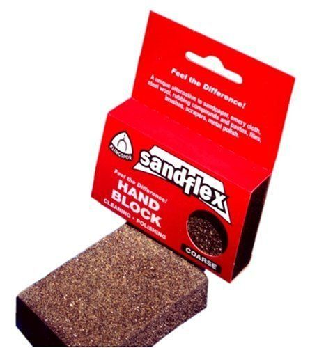 Sandflex Tool Cleaning Block  Coarse by Klingspor ** Check out this great product.