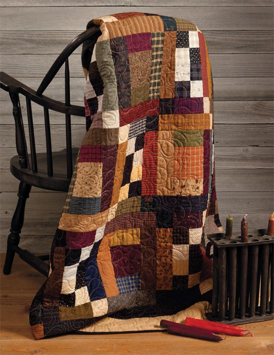 At Home with Country Quilts (Print version + eBook bundle)