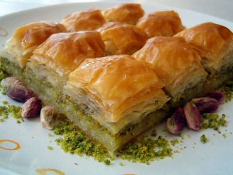 Baklava - is a Turkish recipe .... the most delicious dessert ever