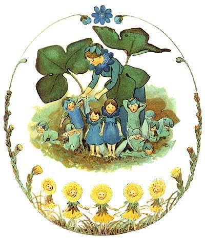 Flower Family by Elsa Beskow