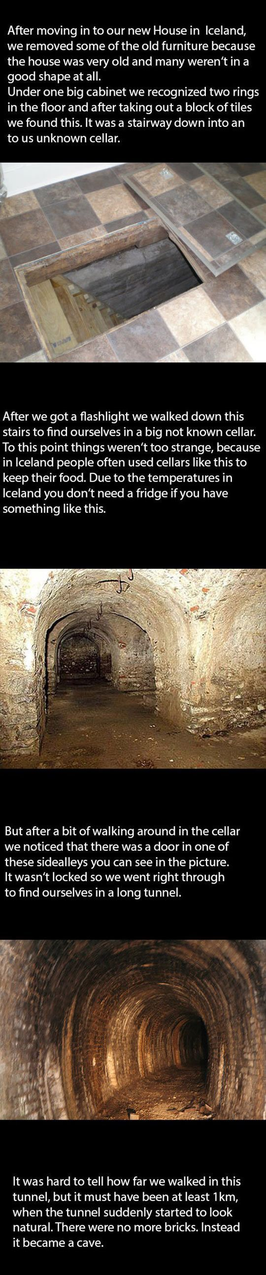 Secret Hidden Room In The New House - please click on link to get whole story, not everyone is sharing both parts