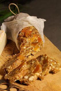 Saucisson de fruits secs pour accompagner vos fromages | On dine chez Nanou                                                                                                                                                                                 Plus
