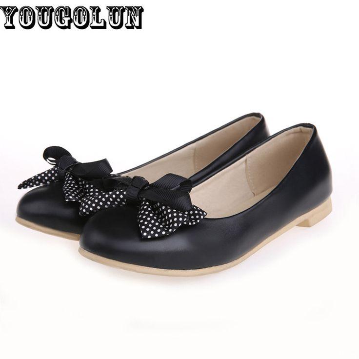 $26.50 (Buy here: https://alitems.com/g/1e8d114494ebda23ff8b16525dc3e8/?i=5&ulp=https%3A%2F%2Fwww.aliexpress.com%2Fitem%2FWomen-Black-Pink-beige-Flats-Shoes-Woman-2015-Bowtie-ladies-Leisure-summer-Flat-shoe-zapatos-mujersapatos%2F32275300091.html ) Women Black Pink beige Flats Shoes Woman 2016 Bowtie ladies casual autumn summer Flat womens female fashion shoes plus size 4-10 for just $26.50