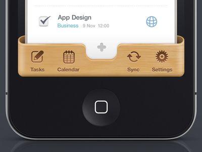 Iphone UI
