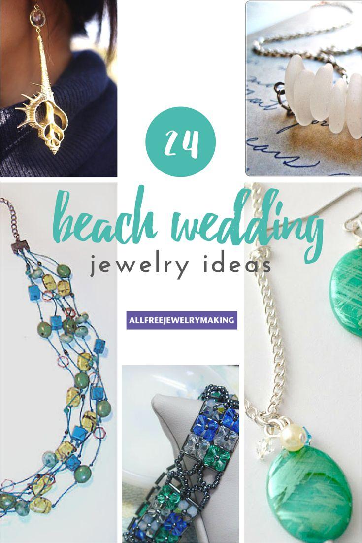 Beautiful Beach Jewelry: 24 Beach Wedding Jewelry Ideas