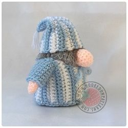 Sleepy Gonk A Gonk's Journey Free outfit patterns for the Santa Gonk Crochet Pattern