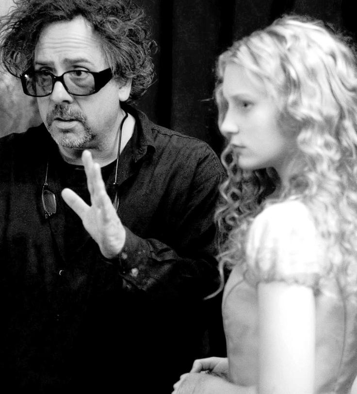 Alice aux pays des merveilles de Tim burton le tournage