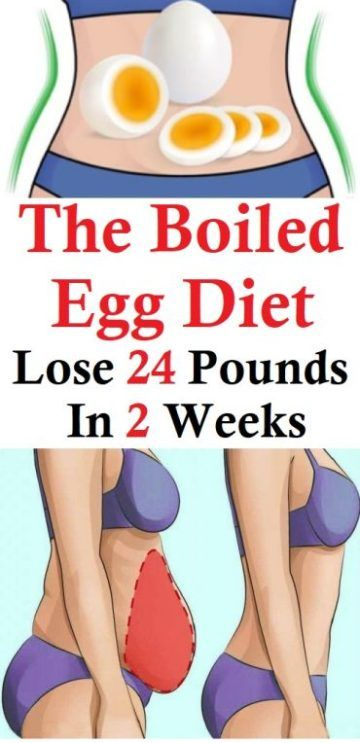Boiled Egg Diet To Lose 24 Pounds In 2 Weeks | Fitness ...