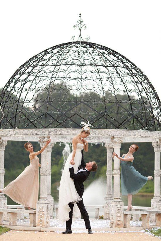 {Virginia} Ballet Wedding Inspiration at Mount Ida Farm Like this.