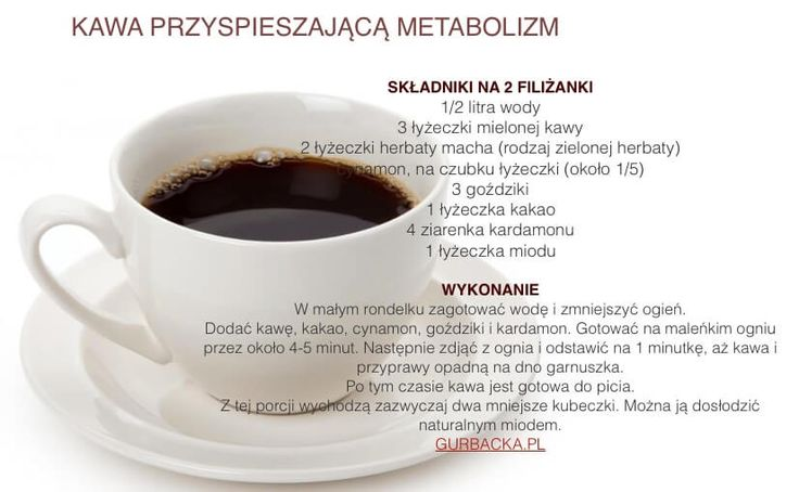 kawa na szybki metabolizm