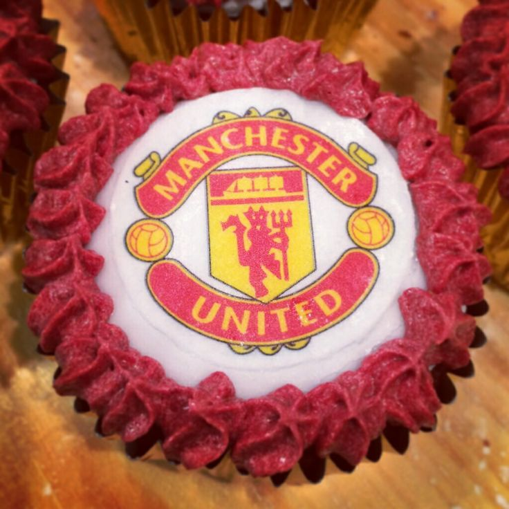 Manchester United Cupcakes