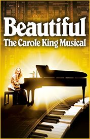Beautiful tells the story of Carole King from her early days as a Brooklyn teenager (named Carol Klein) struggling to enter the record busin...