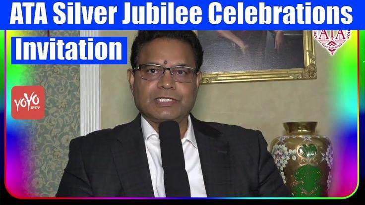 American Telugu Association (ATA) Invitation for Its Silver Jubilee Cele...