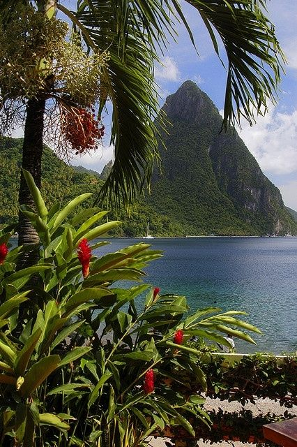 St Lucia, Island in the Caribbean I would love to have a second home in the Caribbean!