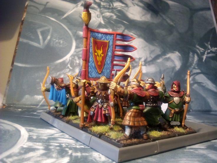 Warhammer Bretonnian Archers by CorunnIhalsei