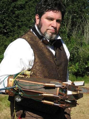 DIY Mechanical Arms : Philip Vadez