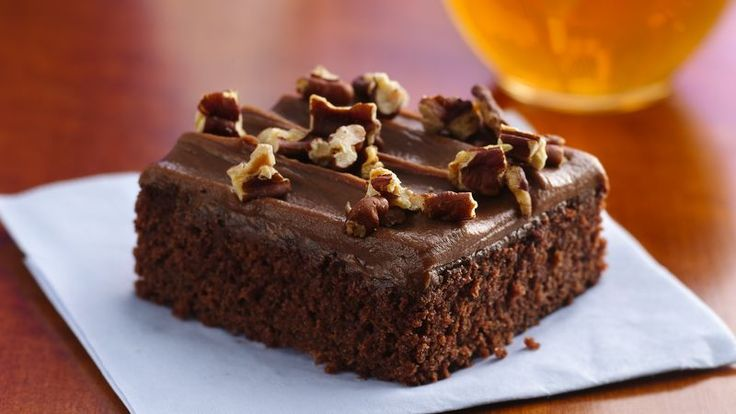 Use Betty Crocker® fudge brownie mix to make these delicious cola brownies.