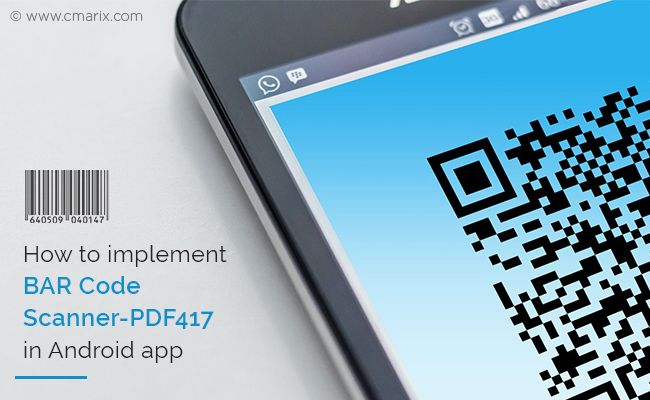 Implementing Bar #Scanner-PDF417 in #Android provides several benefits to a #native #mobile application. This blog outlines the steps. #androidapps #mobileappdevelopment #SDKintegration #Security #PDF417