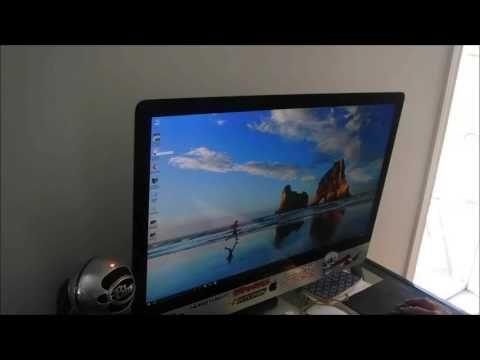 Windows 10 running on my Imac God help me