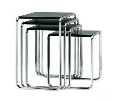 17 best images about thonet on pinterest ux ui designer olives and chairs - Petite table gigogne ...