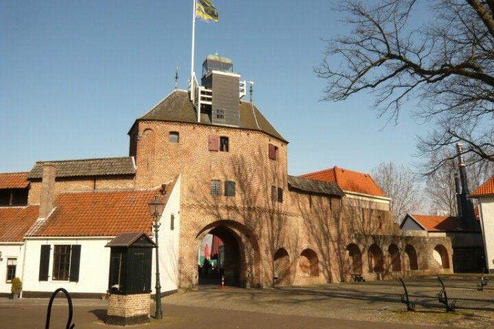 Vischpoort aan de boulevard in Harderwijk,  Gelderland