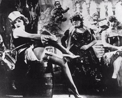 """Der Blaue Engel (The Blue Angel), a film starring the legendary chanteuse and movie star, Marlene Dietrich was based on nightlife at the Wintergarten."""