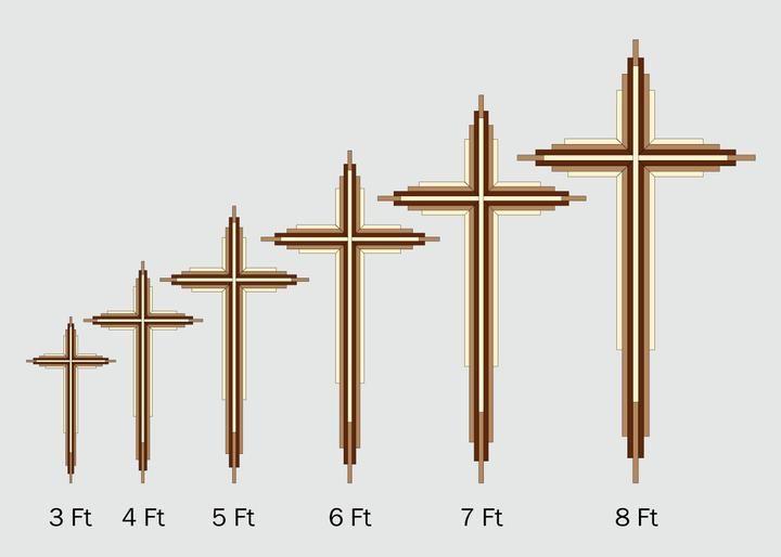 Eight-Foot-Tall DIY Wooden Cross Plans