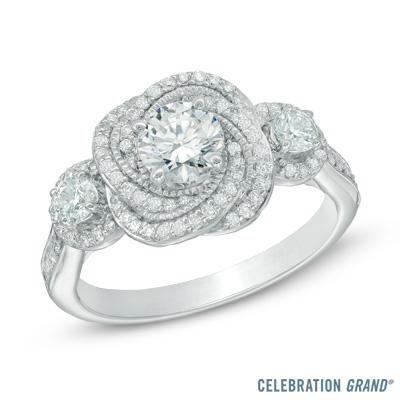 85 best The Celebration Diamond images on Pinterest Wedding bands