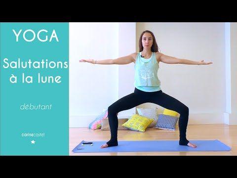 Salutation à la lune - cours de YOGA - YouTube