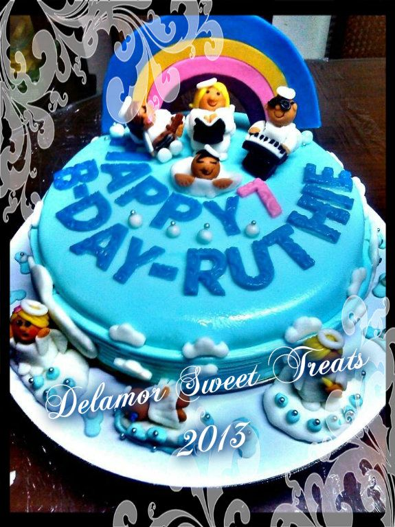 Angel Birthday Cake Photos