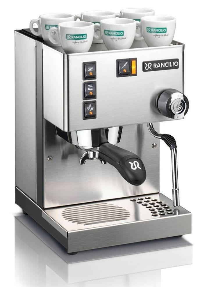 Rancillio Silvia espresso machine #coffee
