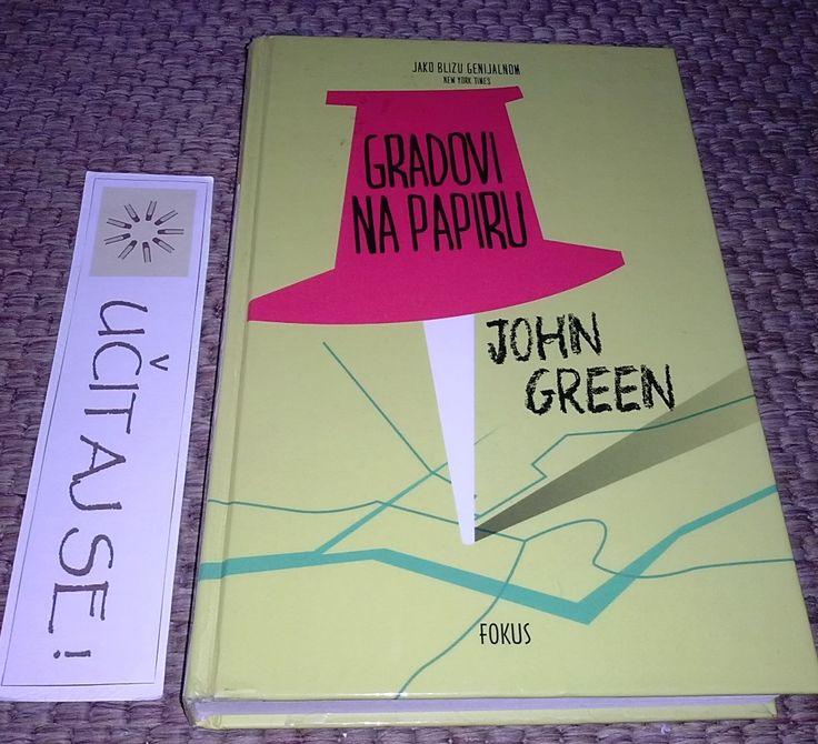 Duhovit i zabavan, ali i dramatičan roman Johna Greena #PaperTowns Izdavač: Fokus Recenzija: http://on.fb.me/1PLKQKq