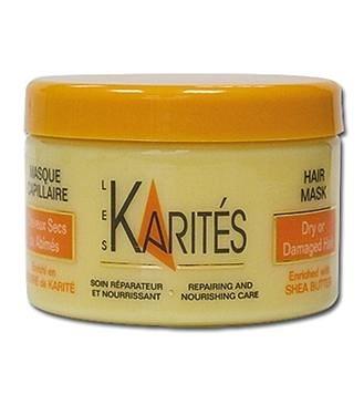 les karites hair mask. amazing deep moisturizing.