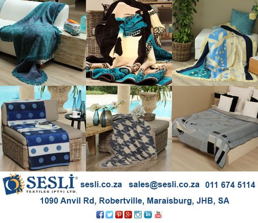 Embrace the winter blues with a Sesli blanket. http://www.sesli.co.za