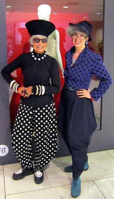 gleeful  fashion - dots -Over 50 fashion