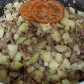 Corned Beef Hash (Abalos style) food-and-drink