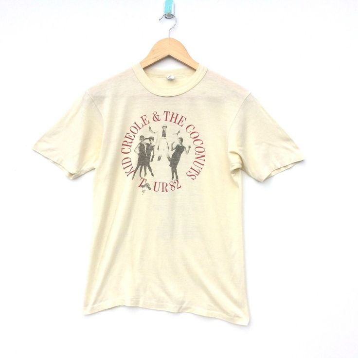 VINTAGE KID CREOLE AND THE COCONUTS SHIRT DISCO MUSIC 1982 TOUR CONCERT ELVIS