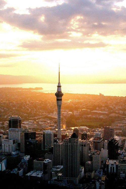 Local city guide—Auckland. (What we love: the iconic Sky Tower, the tallest man-made structure in the Southern Hemisphere. sky walks and bungy jumps available, if your up for the challenge).
