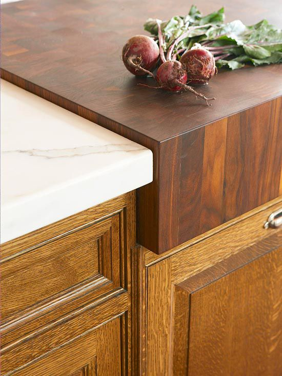 Butcher block cutting board countertop woodworking projects plans - Marble chopping block ...