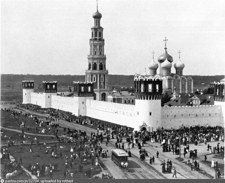 Новодевичий монастырь | История Москвы в картинках % | Moscow history in pictures