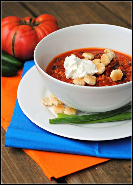 Healthy Turkey Chili via Nicole the Prevention RD: Healthy Turkey Chili, Changing Recipes, 3Rd Annual, Healthy Eating, Drink Ideas, Annual Chili, Chili Contest, Healthy Food, Diet Changing