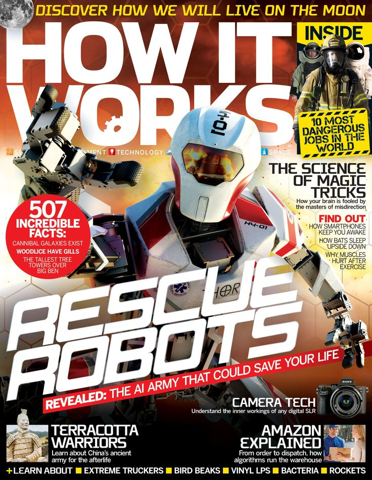 16 best how it works magazine images on pinterest it works in issue 82 of how it works discover the rescue robots that could save your life fandeluxe Gallery