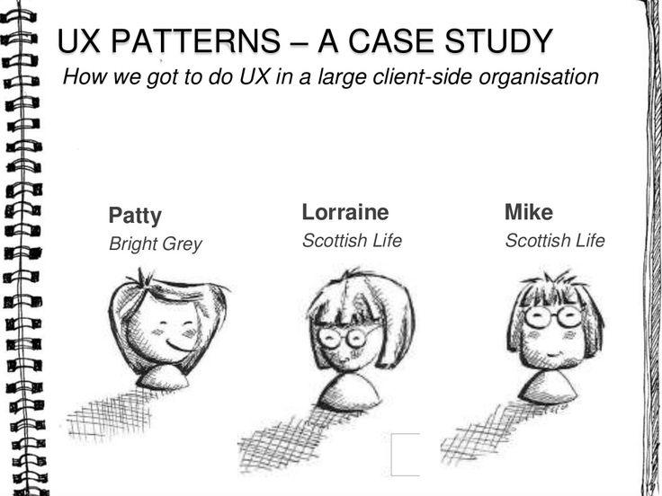UX patterns SlideShare presentation. More good resources in links on final slide.