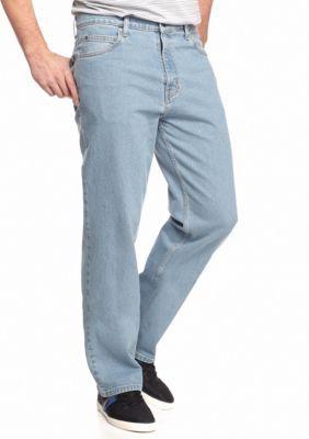 Saddlebred Men's Big & Tall Classic Stretch Jeans - Light Stone - 44 X 32
