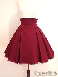 Resultado de imagen para como hacer falda circular