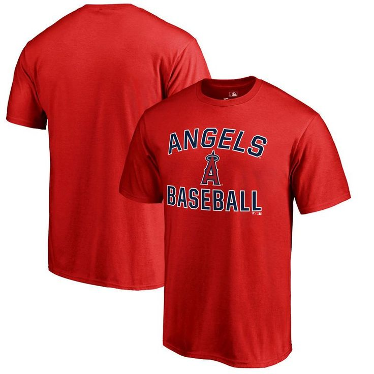 Los Angeles Angels Victory Arch Big & Tall T-Shirt - Red