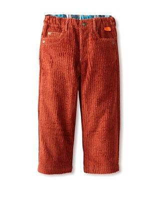 75% OFF Kartoons Kid's Extra Wide Cord Pant (Rust)