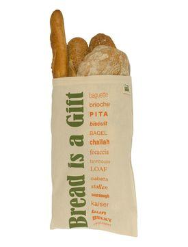 Brödpåse i Tyg med Dragsko - Ekologisk Bomull, GOTS