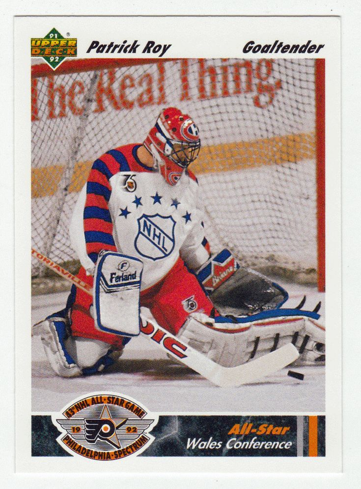 Patrick Roy # 614 - 1991-92 Upper Deck Hockey