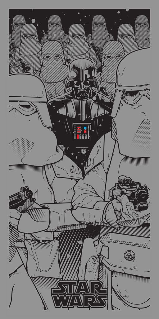 """Star Wars - A Saga Revisited"" by Joshua Budich"